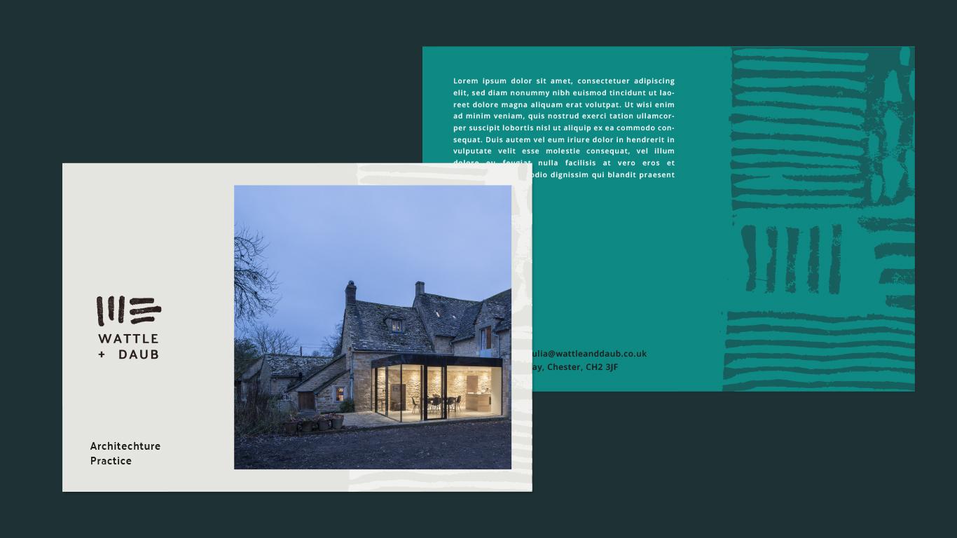 Wattle + Daub - Branding & Print Design