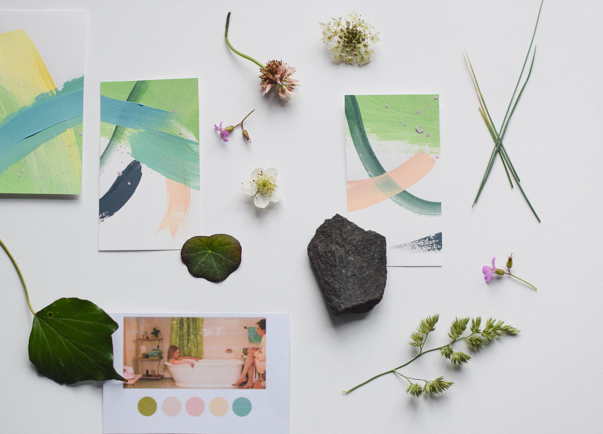 Next Project - Branding for a yoga teacher