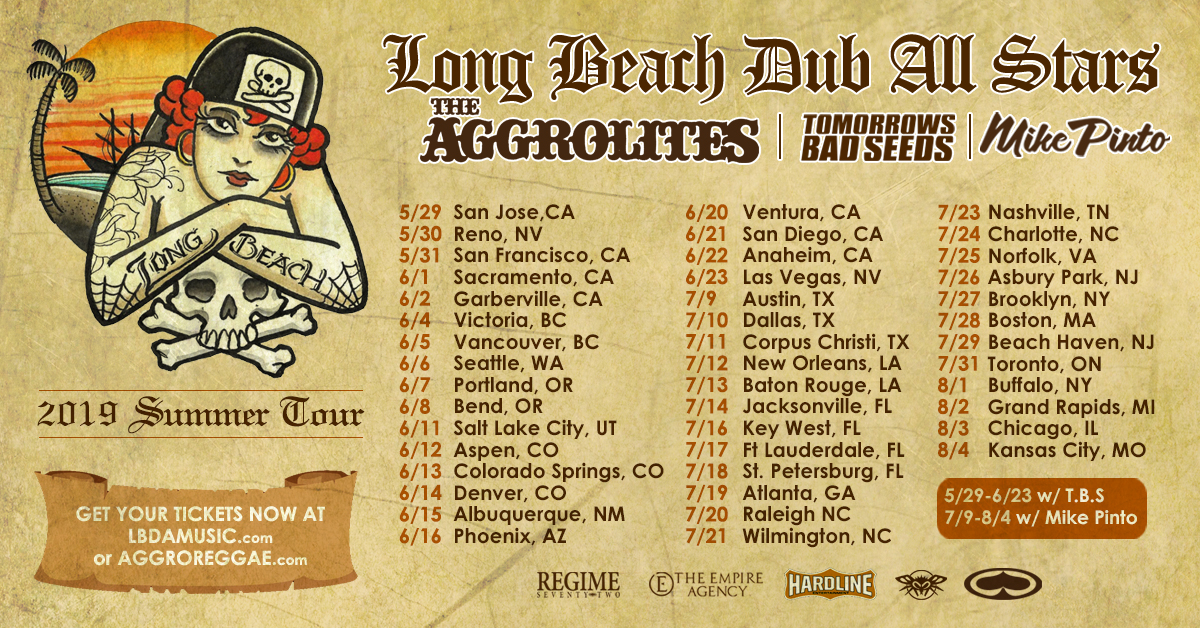 Long Beach Dub Allstars Tour Admat