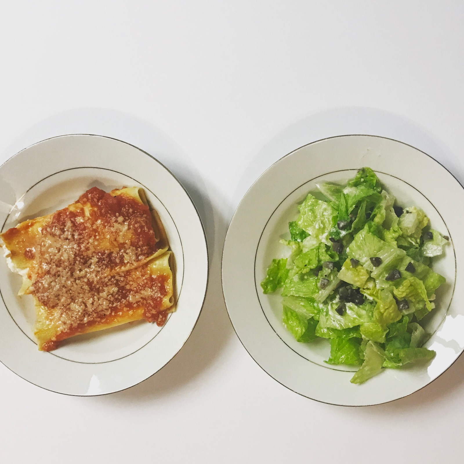 Baked Ricotta Cannelloni