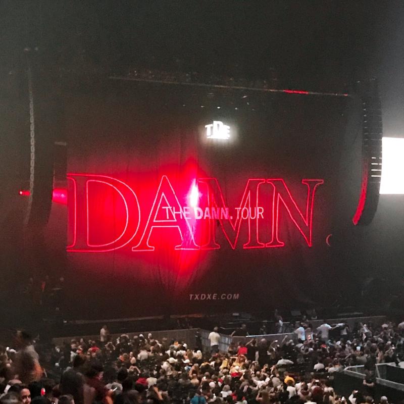 Seats upgraded at the Kendrick Lamar Show - Bell Centre Montréal