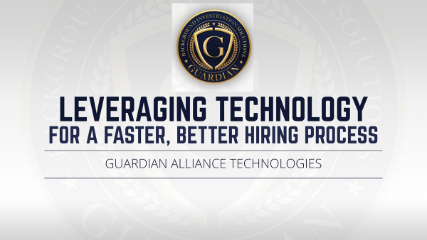 For more information click Guardian Alliance Technologies