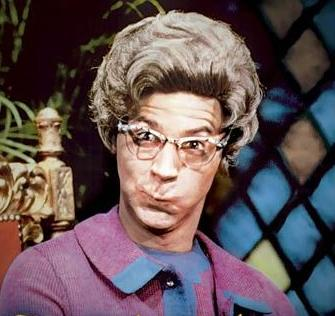 Dana Carvey played the Church Lady on NBC's Saturday Night Live in the late 1980's.