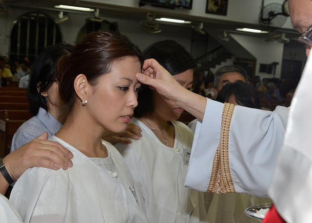 Anointing with oil is an ancient tradition that is older than Christianity and is continued throughout the globe today.