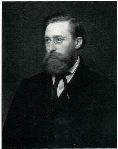 Hans Gude (1825-1903) giftet seg med Betsy Anker etter flere års hemmelig forlovelse. Han ble en svært anerkjent kunstner både hjemme og i utlandet. Klikk på bildet for mer informasjon.