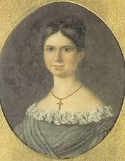 Ida Kjerulf (1817-1840) er mest kjent som Welhavens store kjærlighet. Hun var den eneste jenta blant de seks søsknene og døde ung av lungetuberkulose.