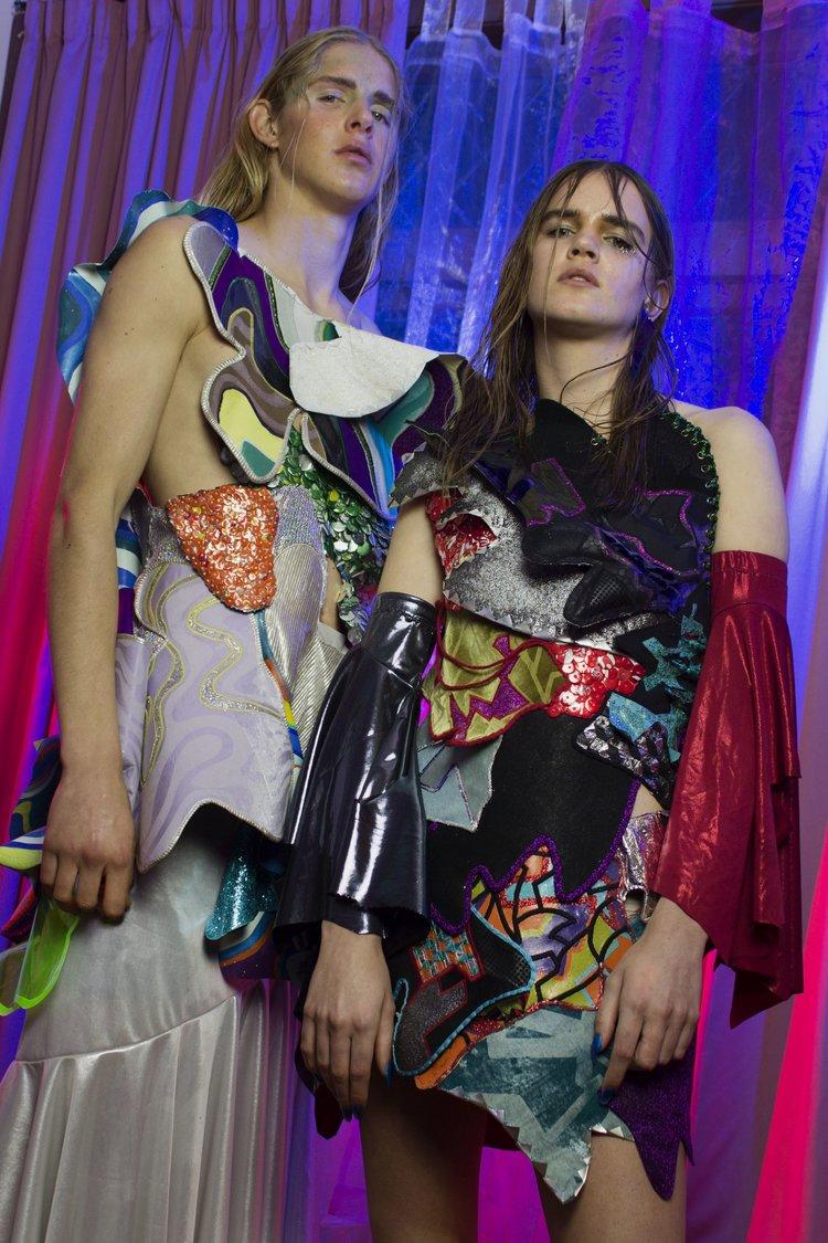 Olivia Balle & Kristen Maeclem