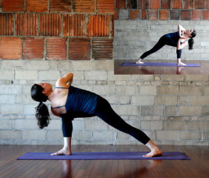 I get really annoyed looking up yoga poses and only finding white people.