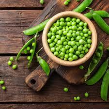Pea protein 5 gms per 100 gms of green garden peas