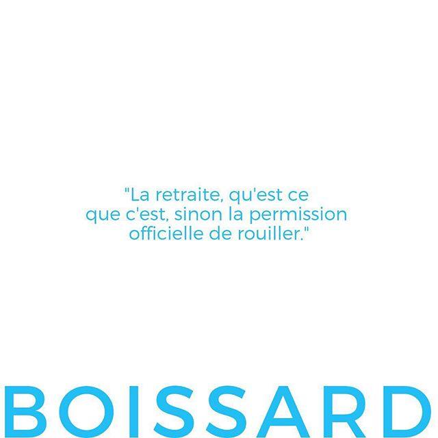 Votre citation, signée Boissard cette semaine 🤗