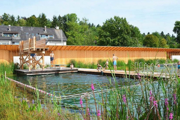 Biofiltered Swimming Pool