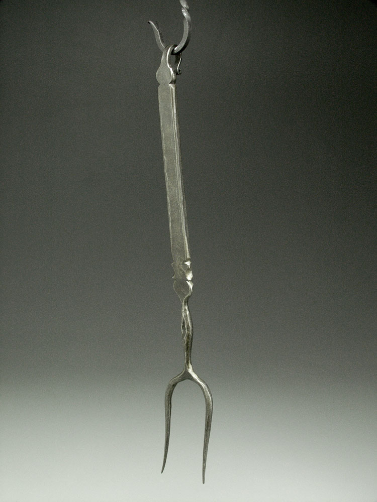Fork with Decorative Filing