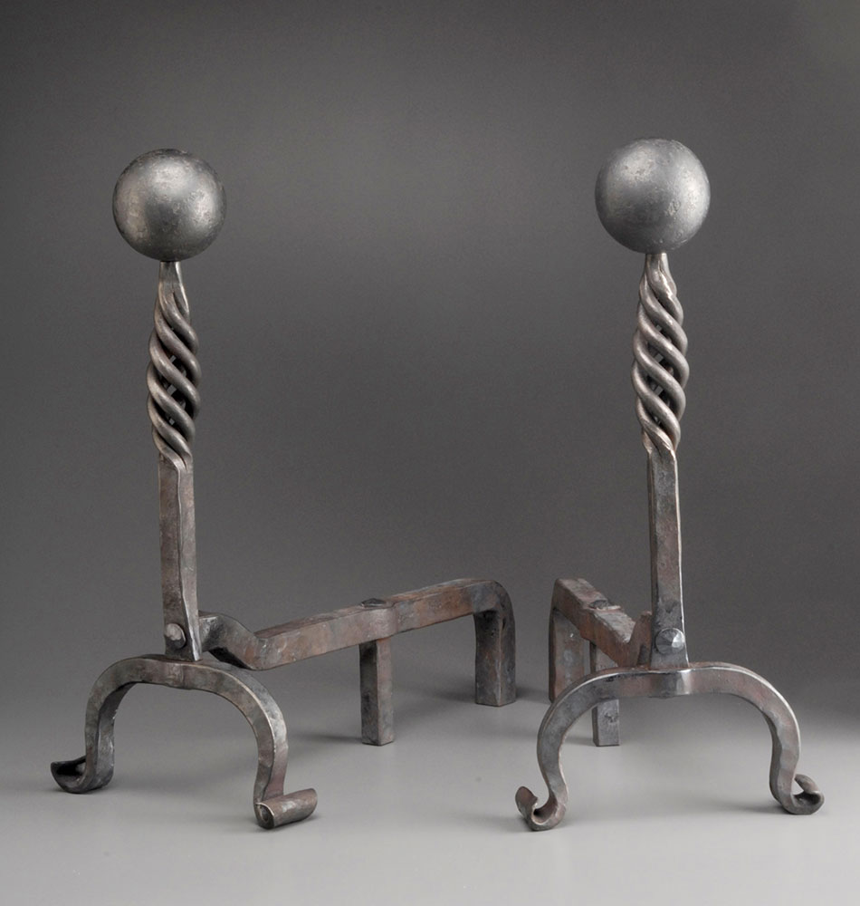 Andirons for Dr. and Mrs. Mann