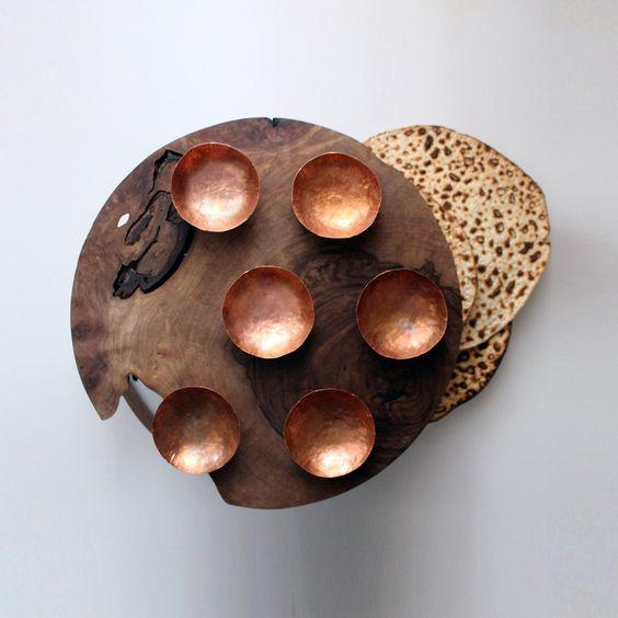 Seder Plate by  Denebeim Studios