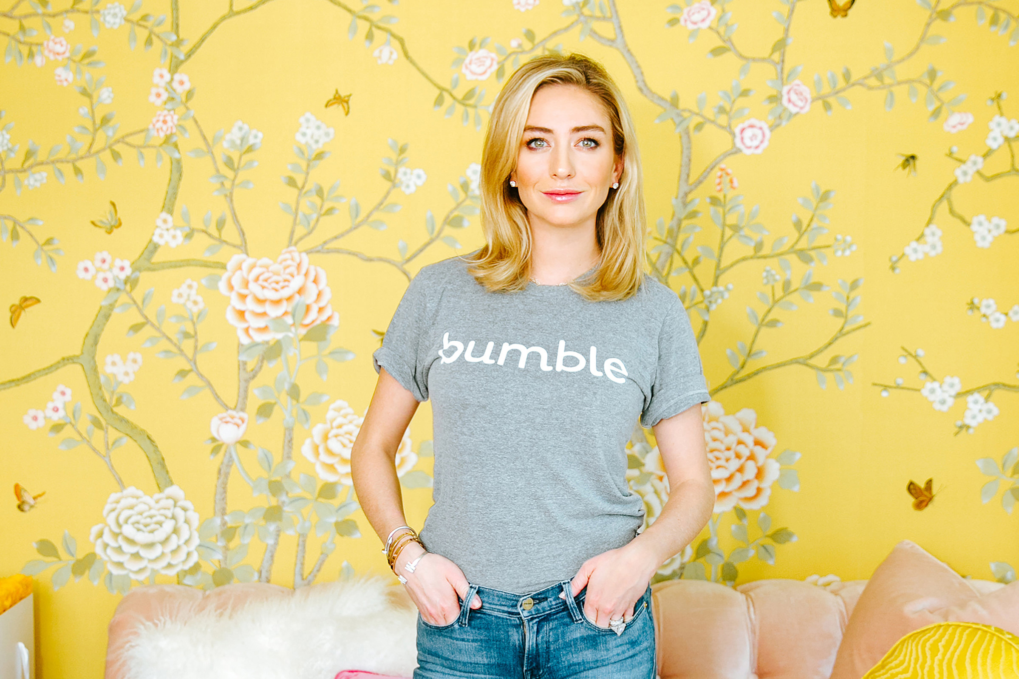 Whitney Wolfe, CEO, Bumble via  TIME