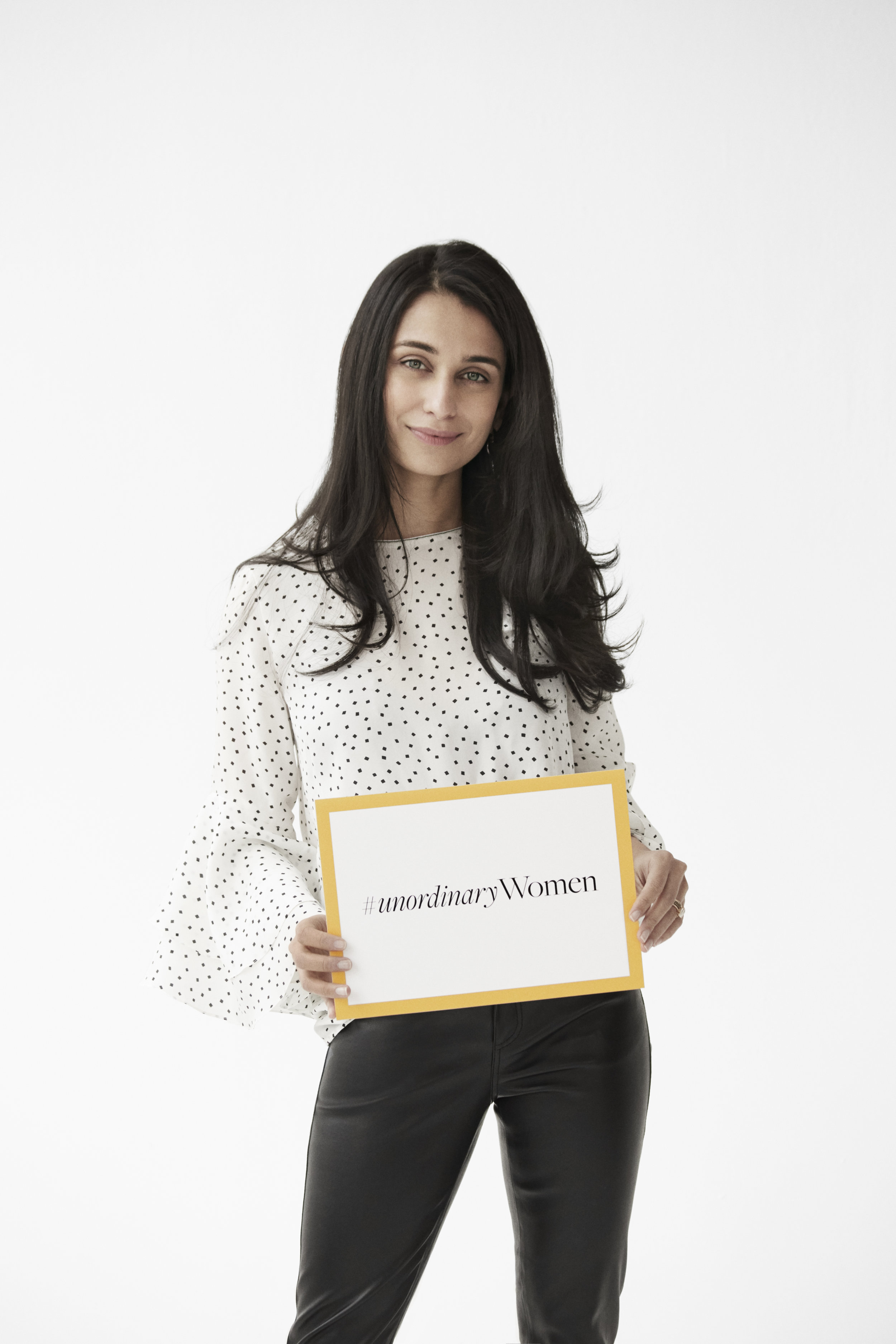 Lafayette 148 New York  #UnordinaryWomen Campaign  in support of  She's The First