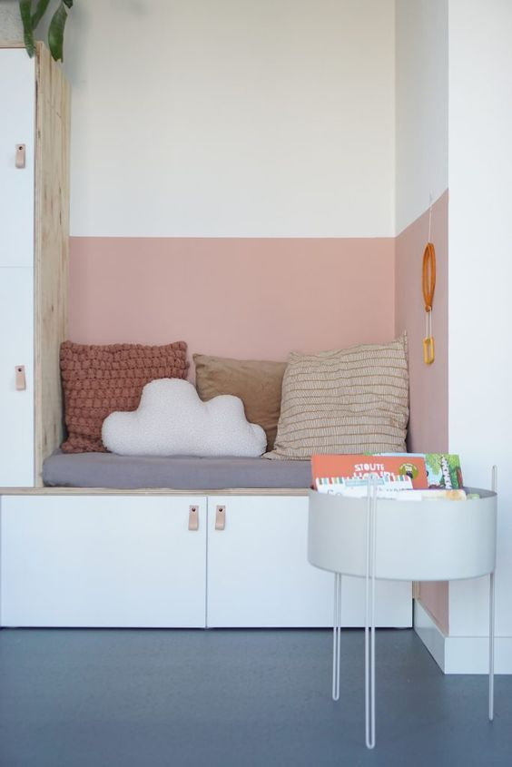This is one of my favorite inspo images for Lyla's new room!