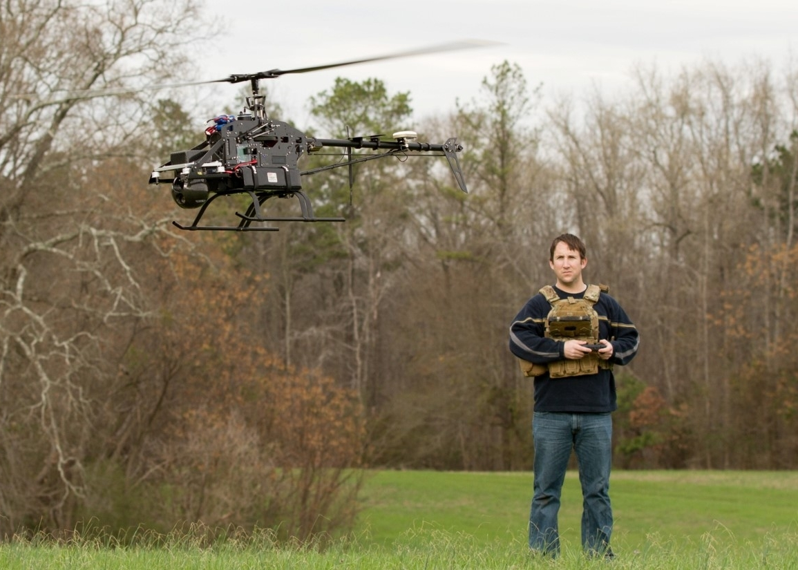 Venom Block 1 Flying with Tase 150, and Wearable Operator Interface.