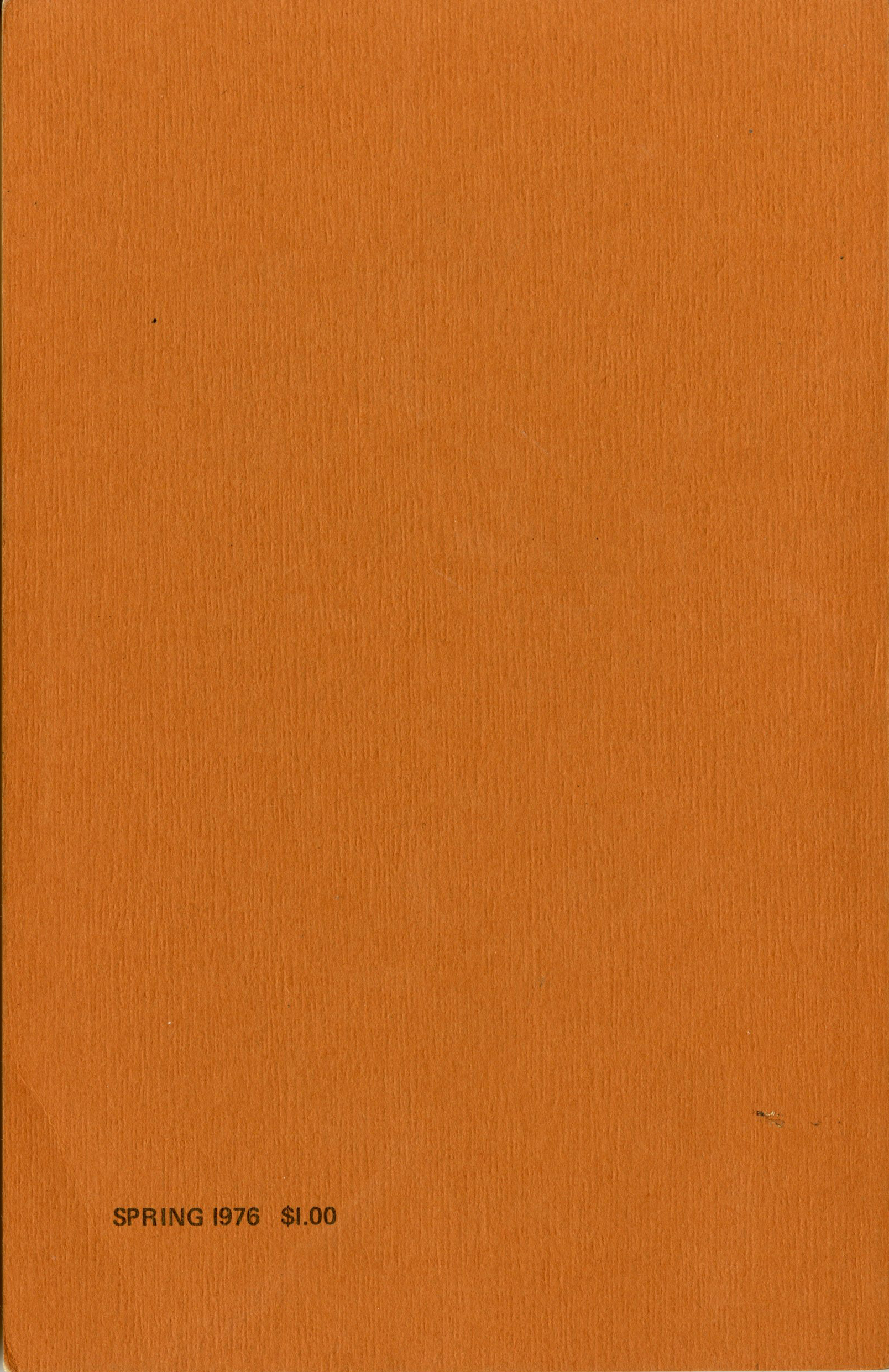 Volume IV, Back (1976)