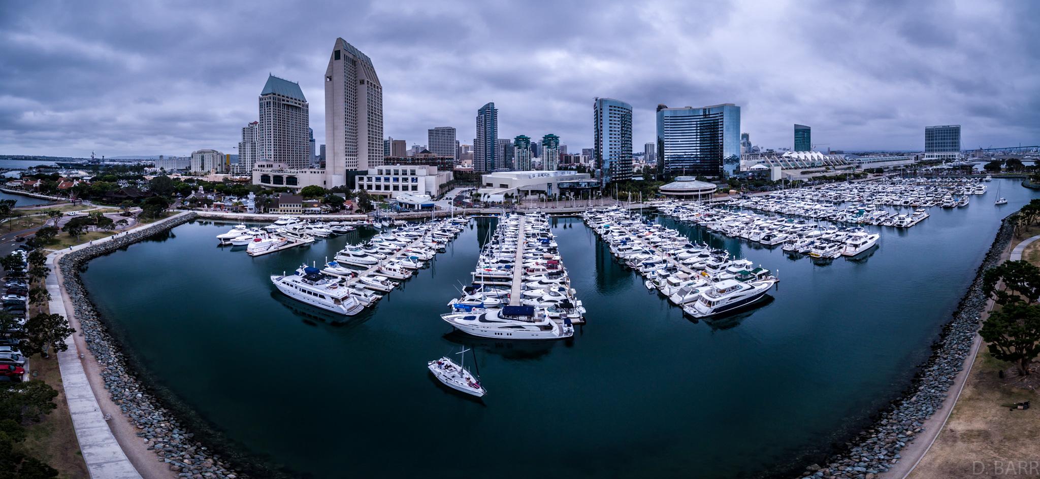 San Diego Bay (Pano shot)