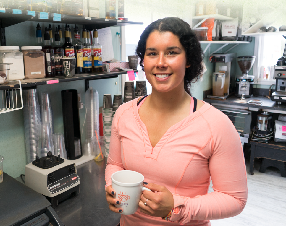 Fish Eye Coffee    Business Coaching and Loan Recipient