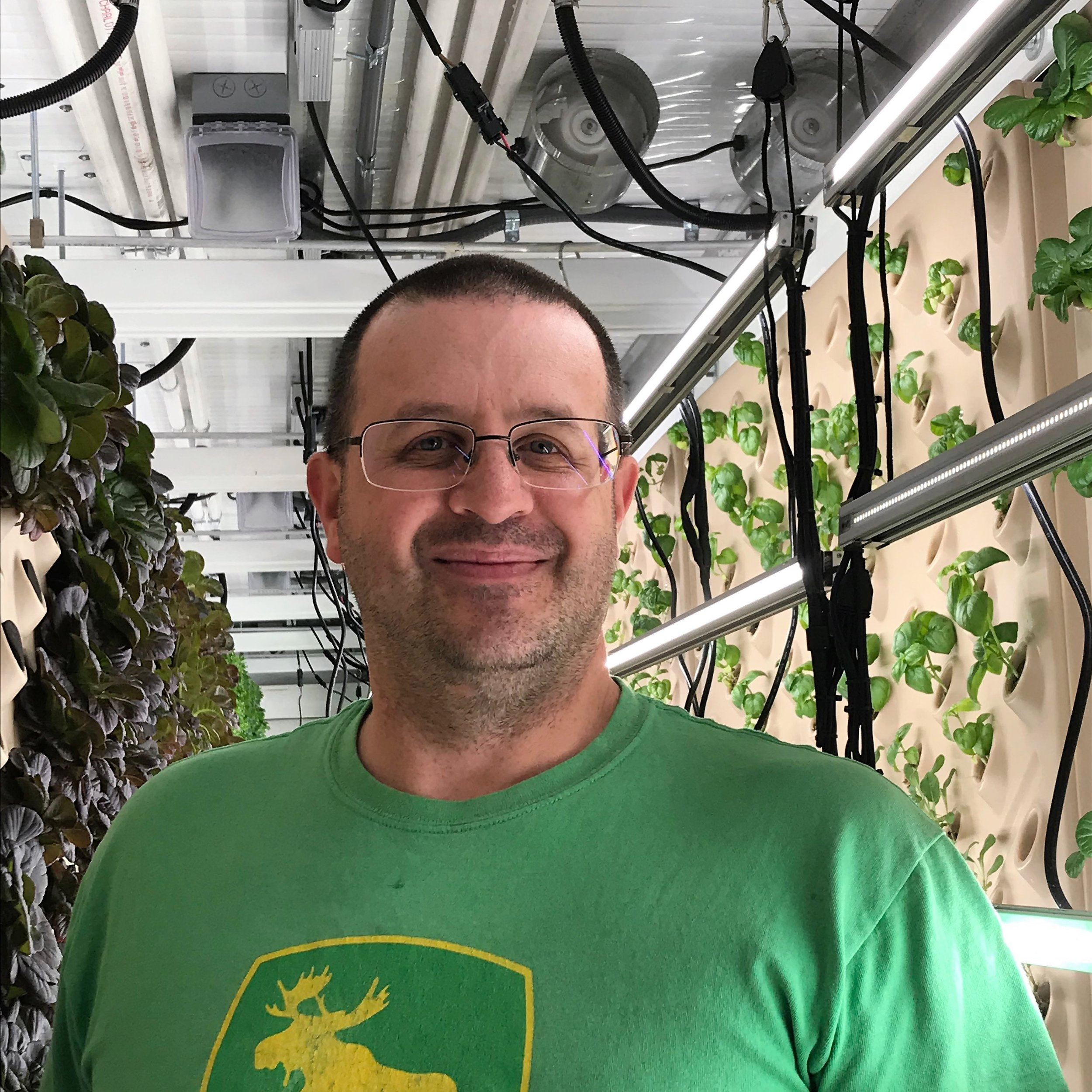In Mendenhall Valley, Allen Butner is using innovative farming techniques to grow local greens for Southeast Alaska consumers.