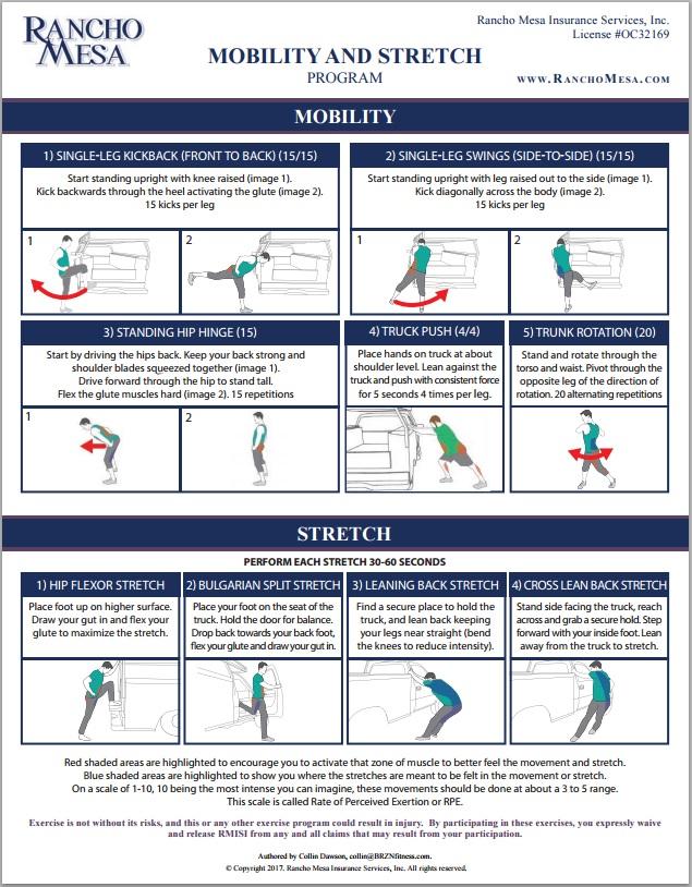 Mobility & Stretch Program -