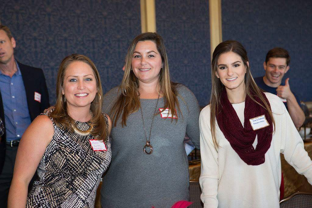 Alyssa Burley, Yvonne Gallagher and Sierra Pedersen from Rancho Mesa Insurance Services, Inc.