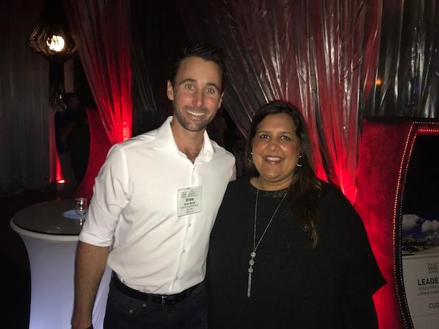 Drew with CEO of NALP, Sabeena Hickman.