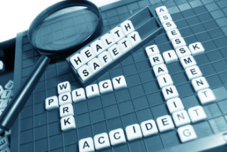 Image of Scrabble board spelling 'Health Safety'