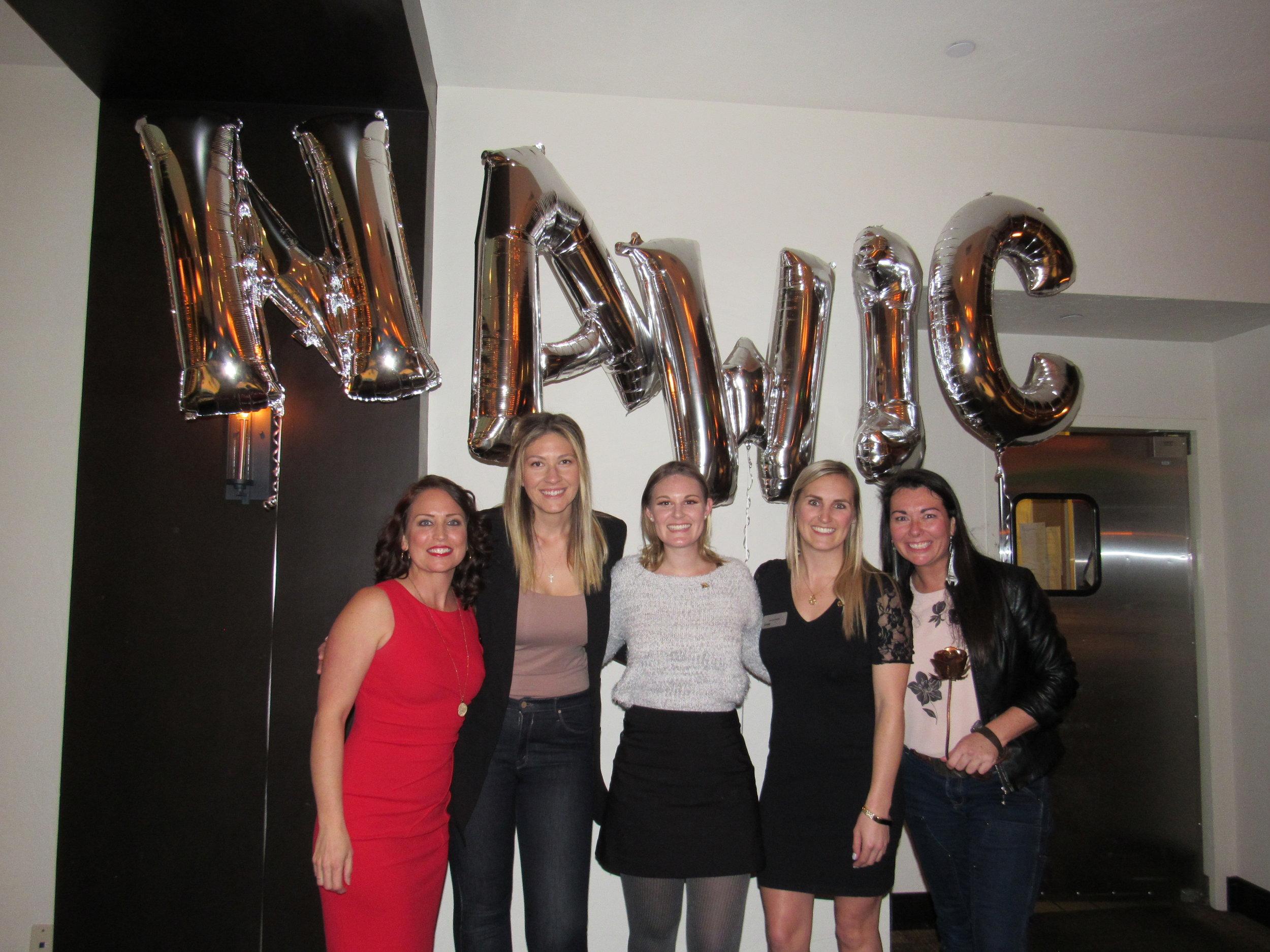 Alyssa Burley, Tosha Carapella, Shelby Ballow, Amber Webb, Kayleen McCabe