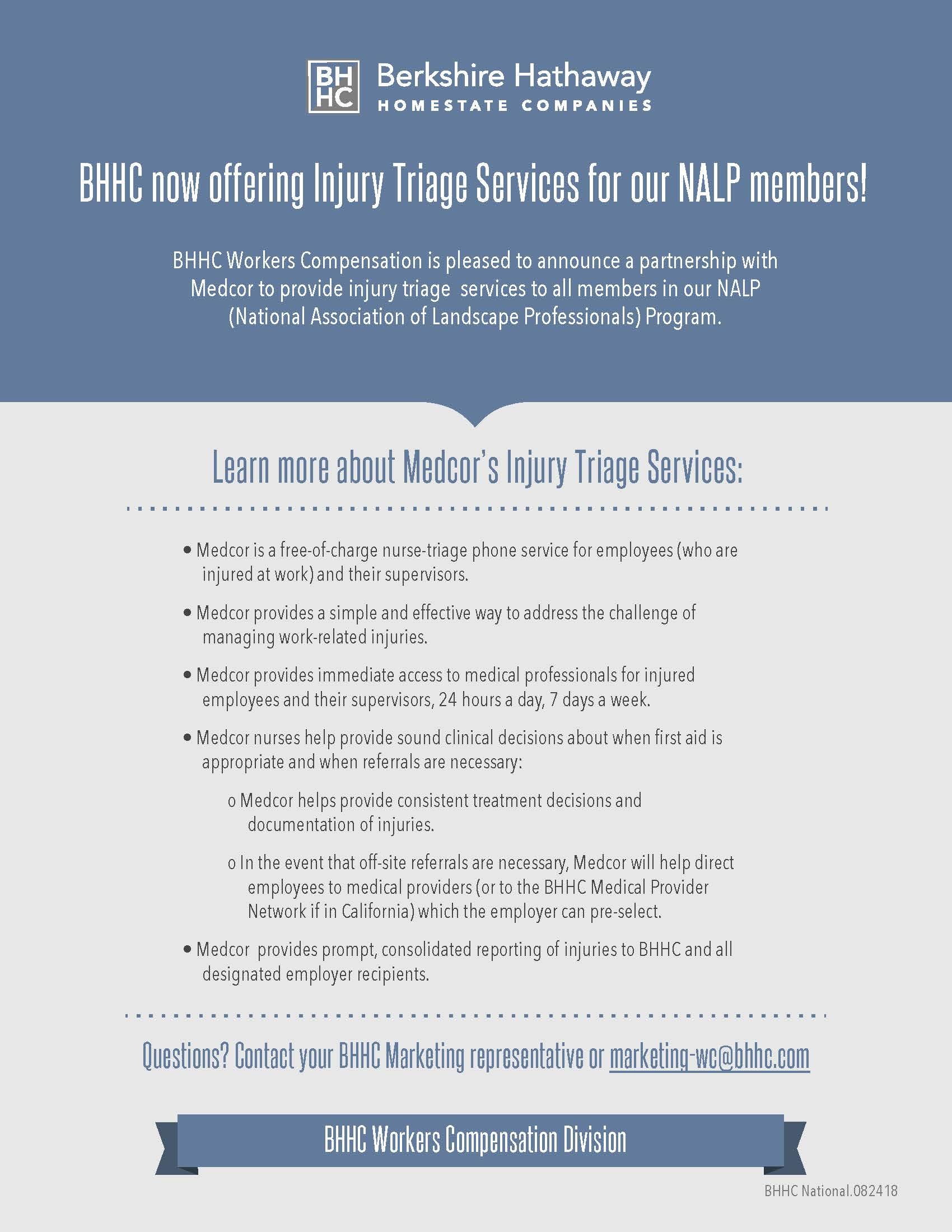 NALP Workers' Compensation Program — Rancho Mesa Insurance