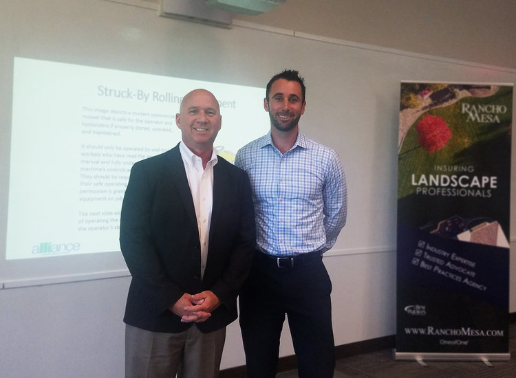 Rancho Mesa Co-Hosts OSHA 10 Course for Landscape Industry