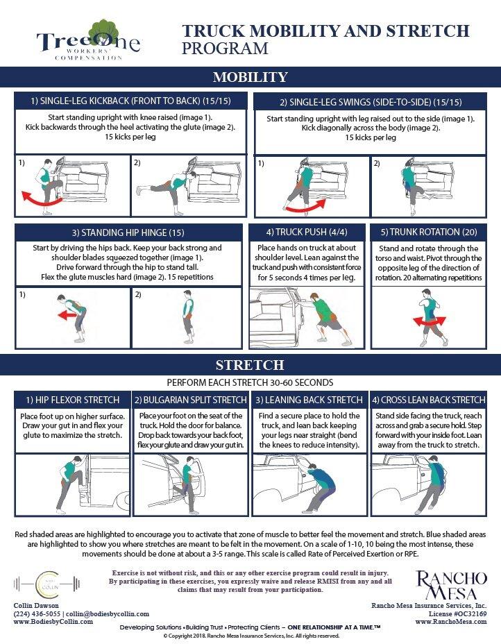Mobility & Stretch Flyer