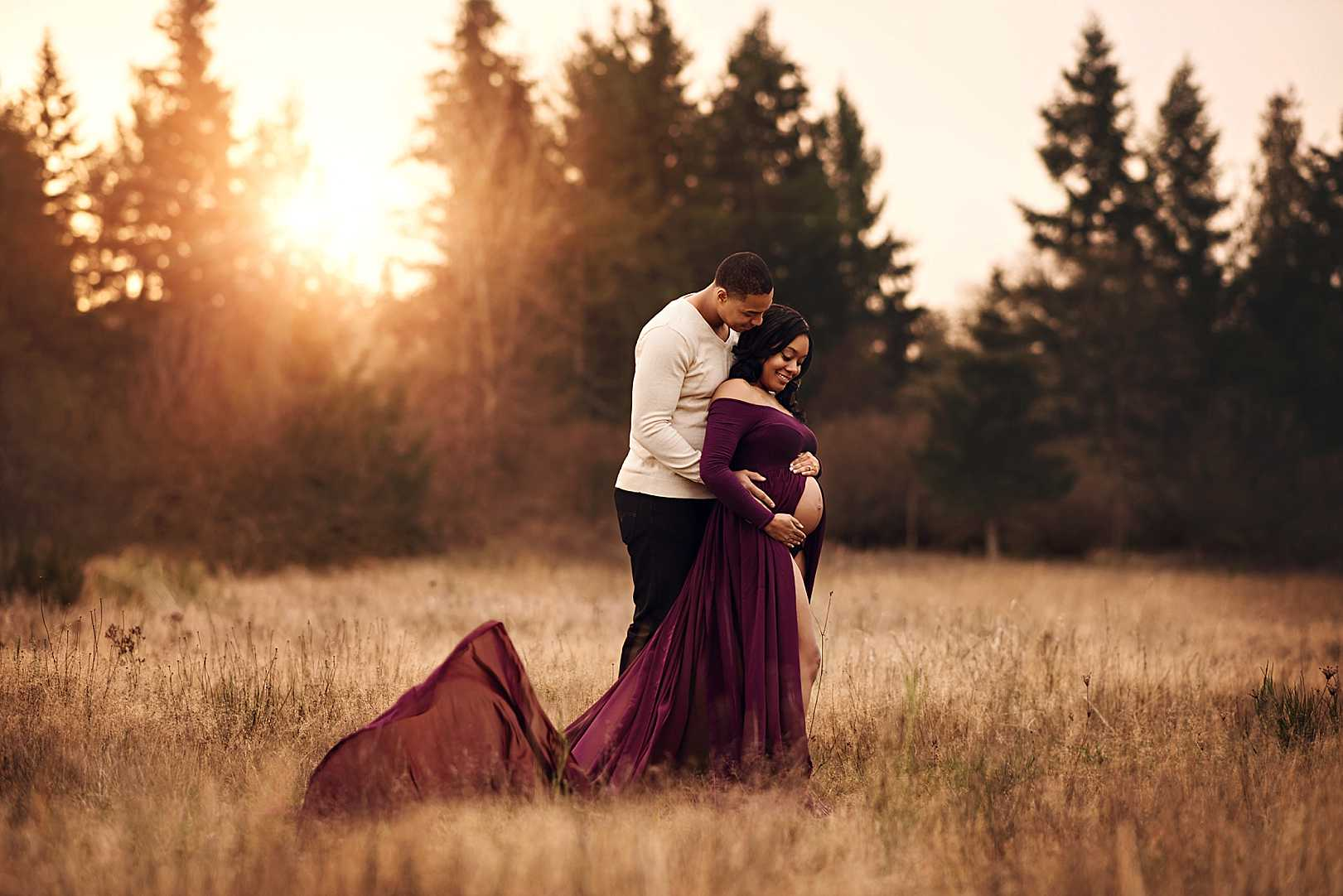 JBLM Maternity Portrait Photographer |  Stephanie Ratto Photography