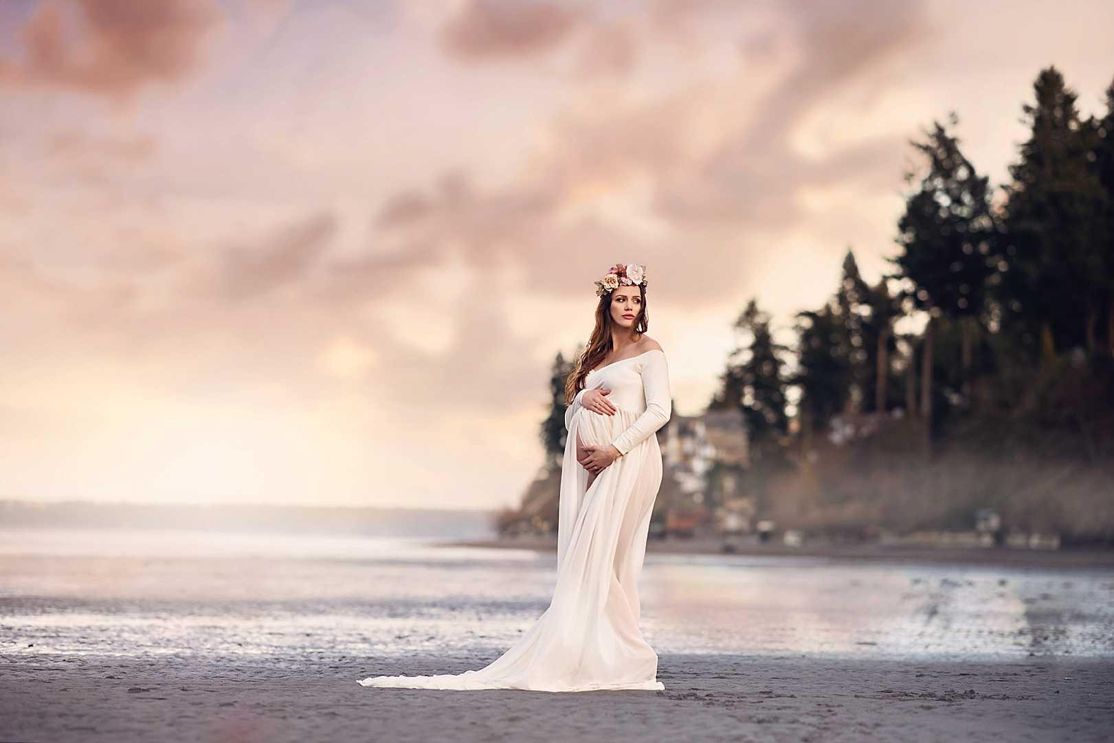 JBLM Maternity Photographer | Stephanie Ratto Photography