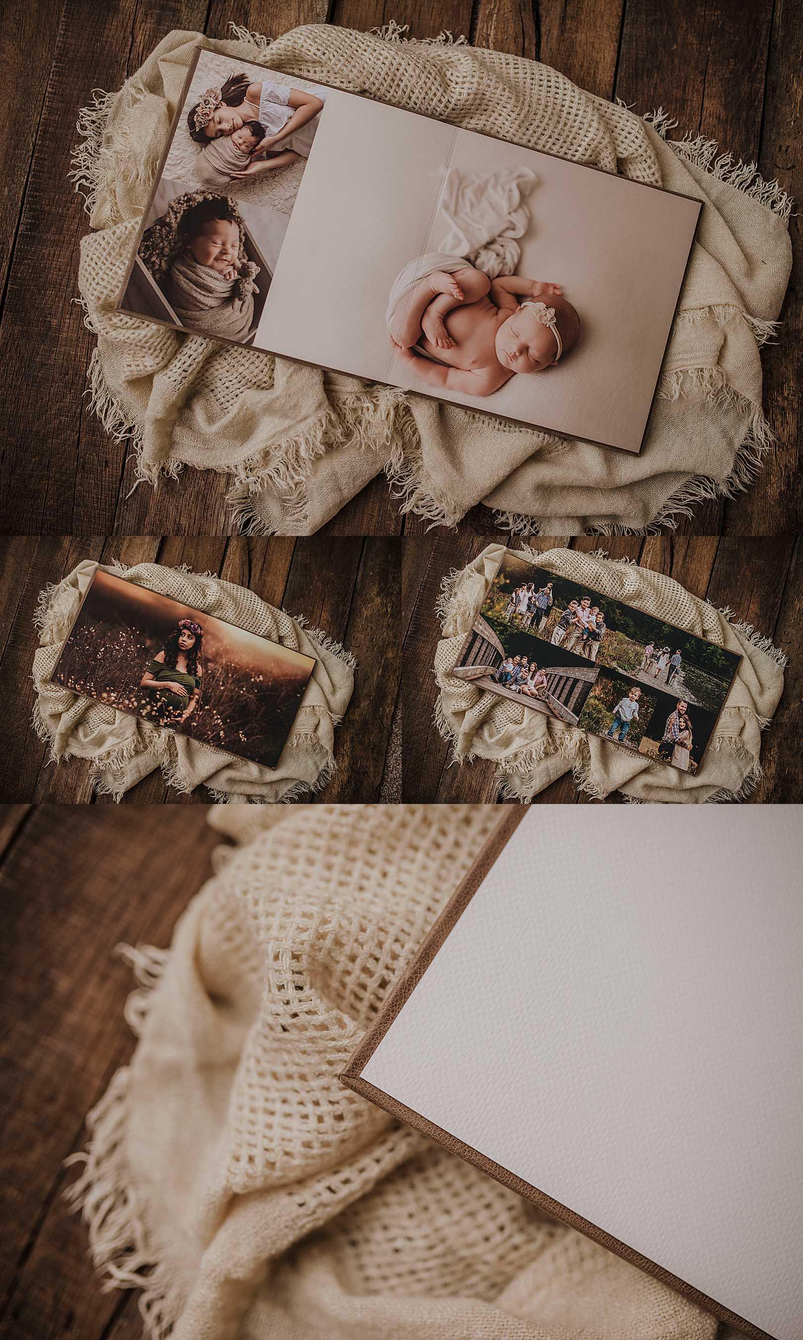 Premium Albums | Yelm, Washington Photographer | Stephanie Ratto Photography