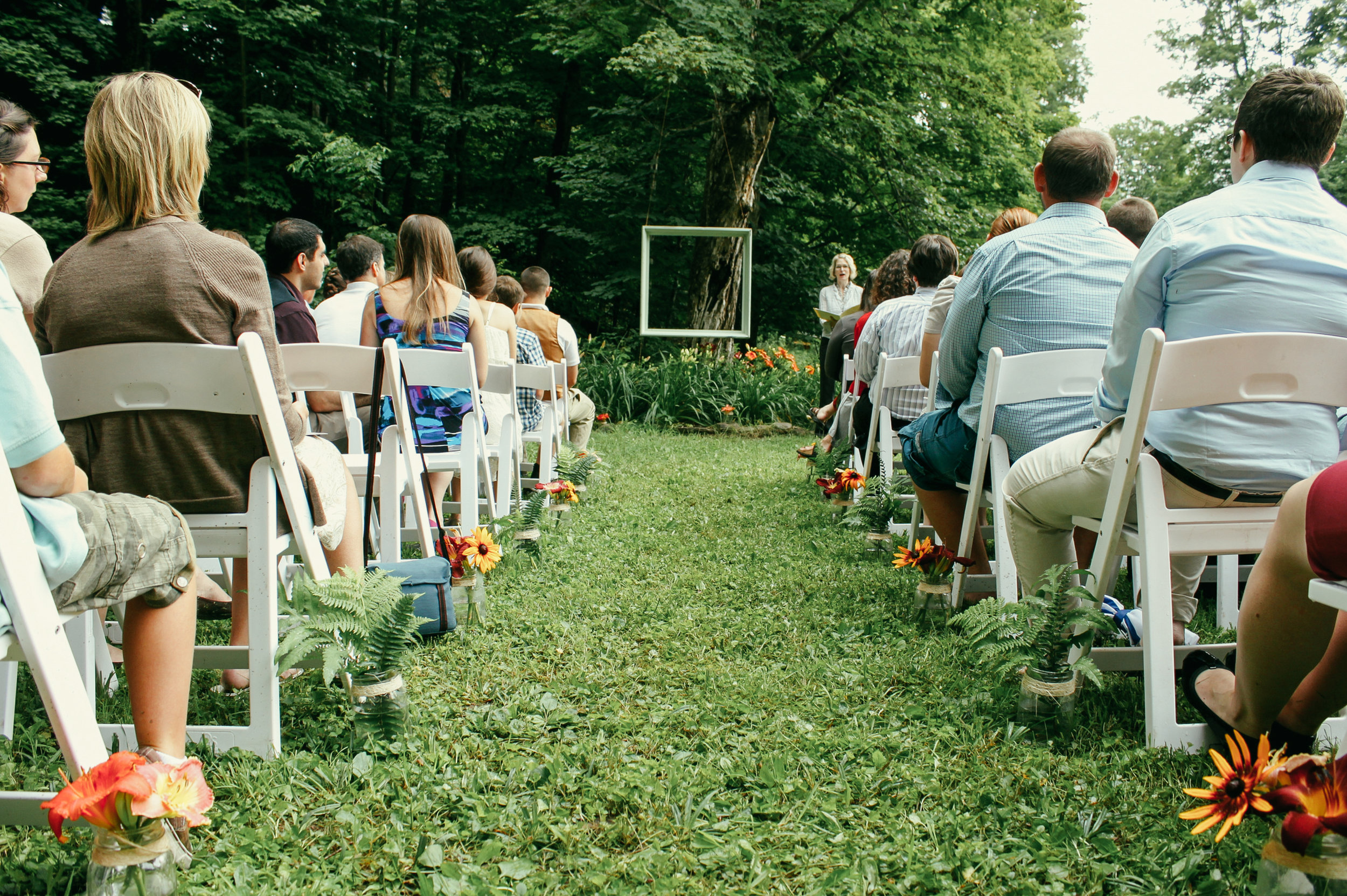 A beautiful country wedding venue on 60 private acres in upstate new york