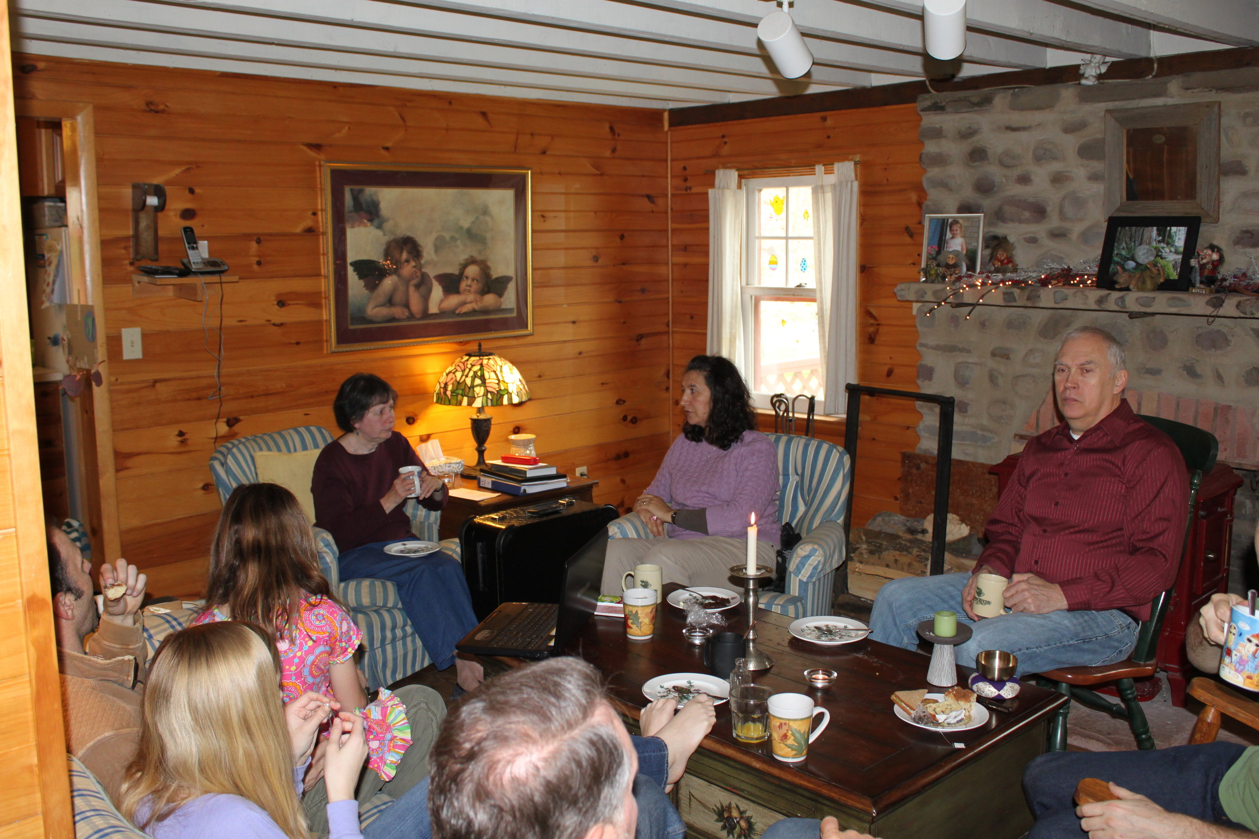 Gatherings for birthdays, anniversaries and more at Wellnesste Lodge.