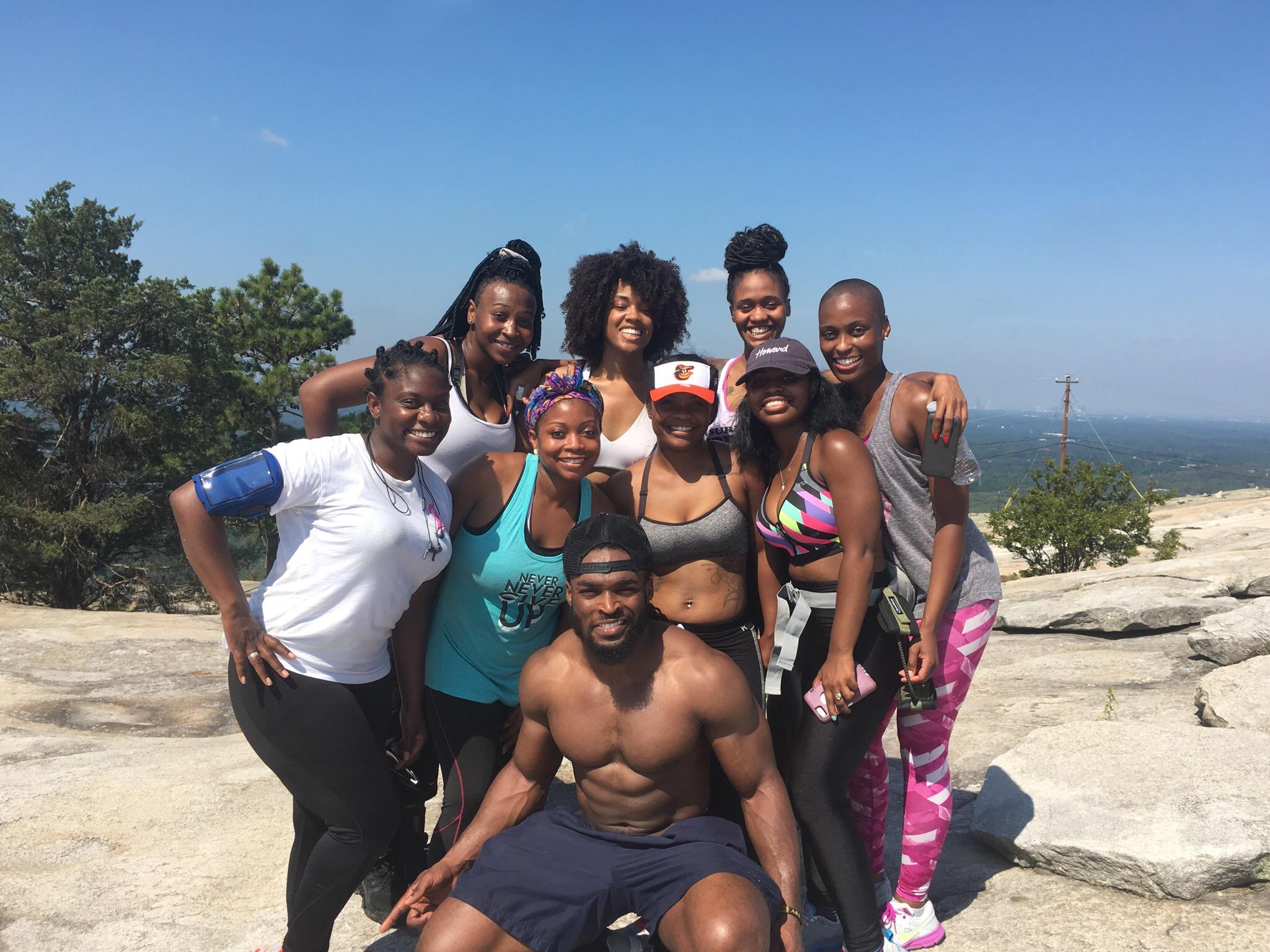 Bridal Retreat Hike Up Stone Mountain
