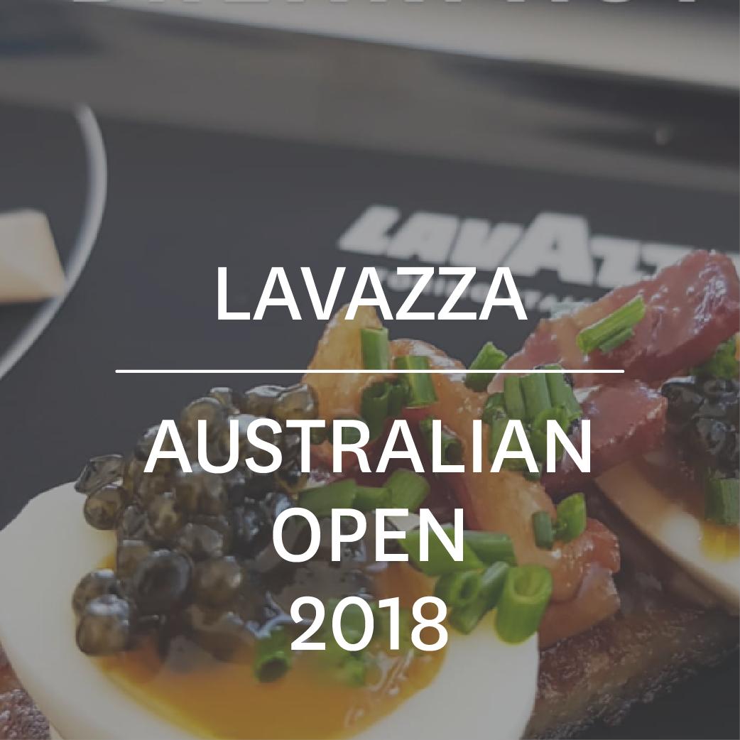 Lavazza at Aus Open 2018-01-01.png
