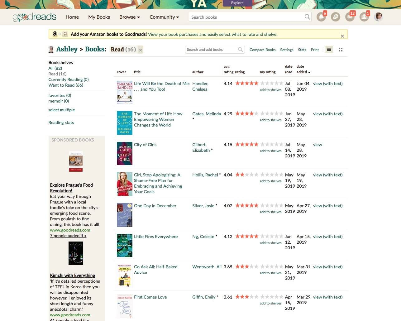 Goodreads got me out of my reading rut