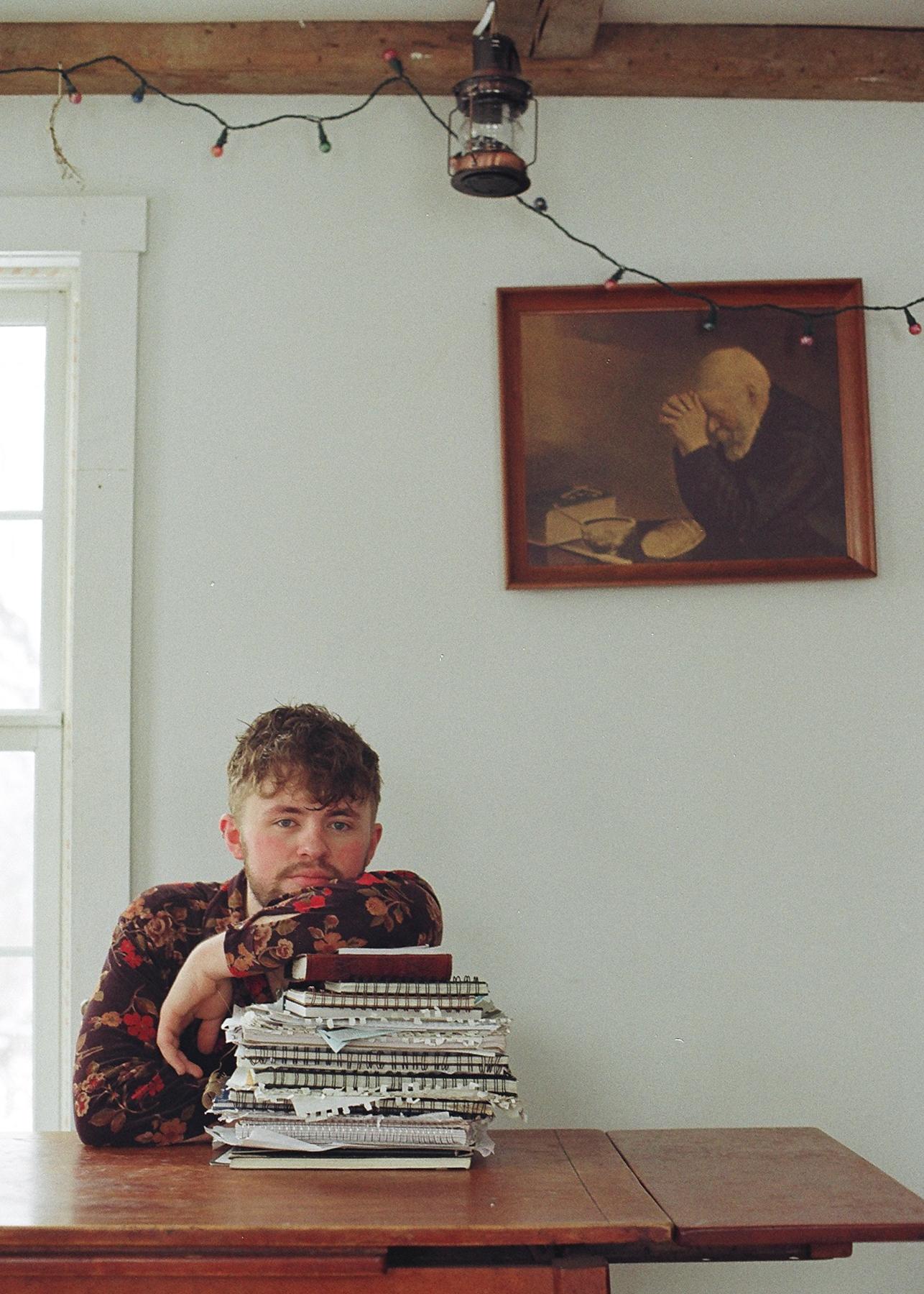 Nathan + his journals