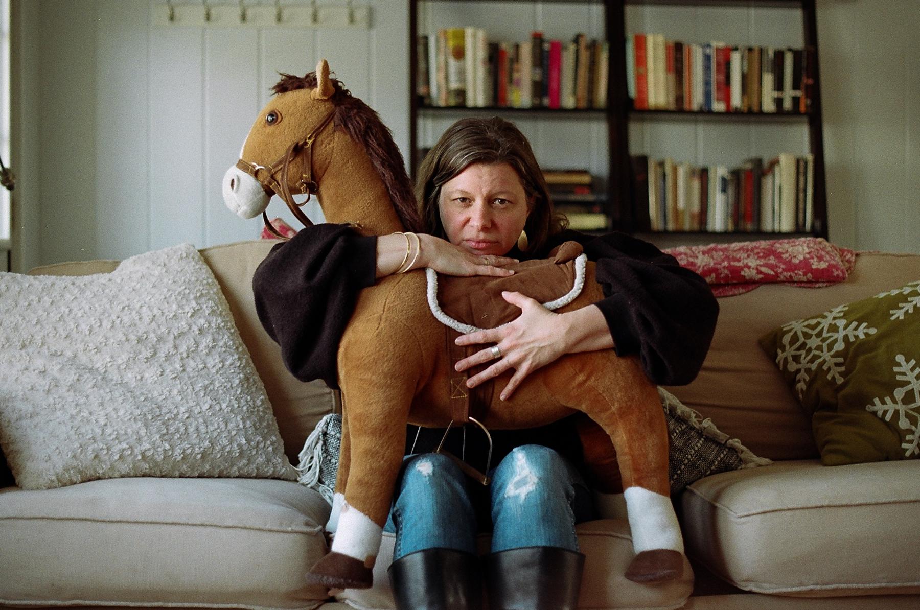 Jillian + her daughter's horse