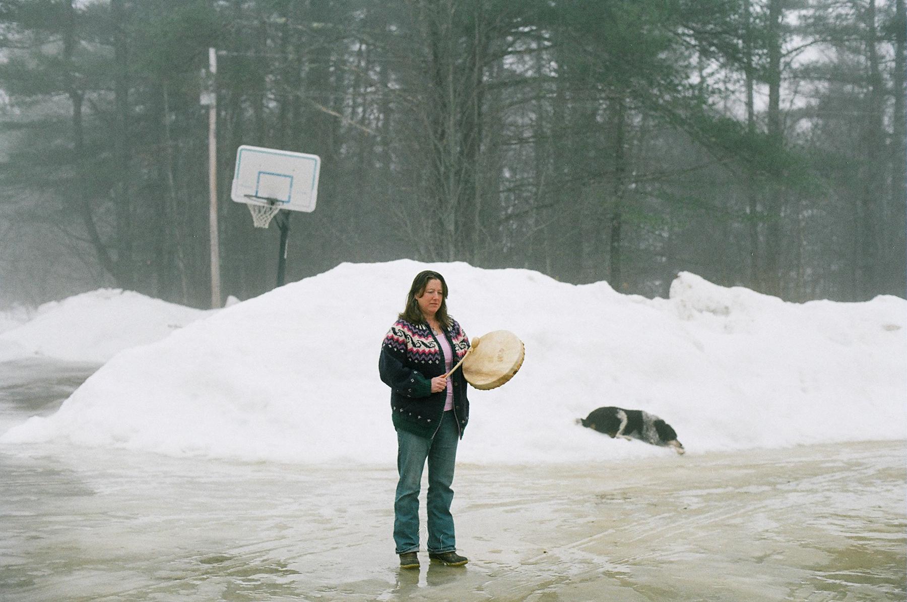 Melissa + her shamanic drum