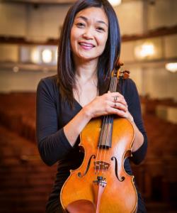 Mahoko Eguchi, viola
