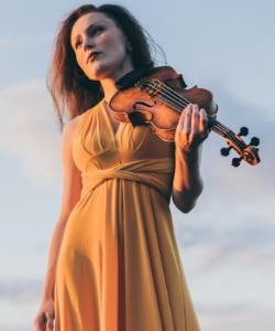 Audrey Wright, violin