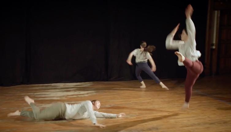 SharedSpaceat Mark Morris Dance Center - March 2, 20182+2+2BY KATIE SKINNERIN COLLABORATION WITH DANCERS: GENNA MATTANA, LIBBY WOLF, LÉLA GROOMMARK MORRIS DANCE CENTER3 LAFAYETTE AVENUE