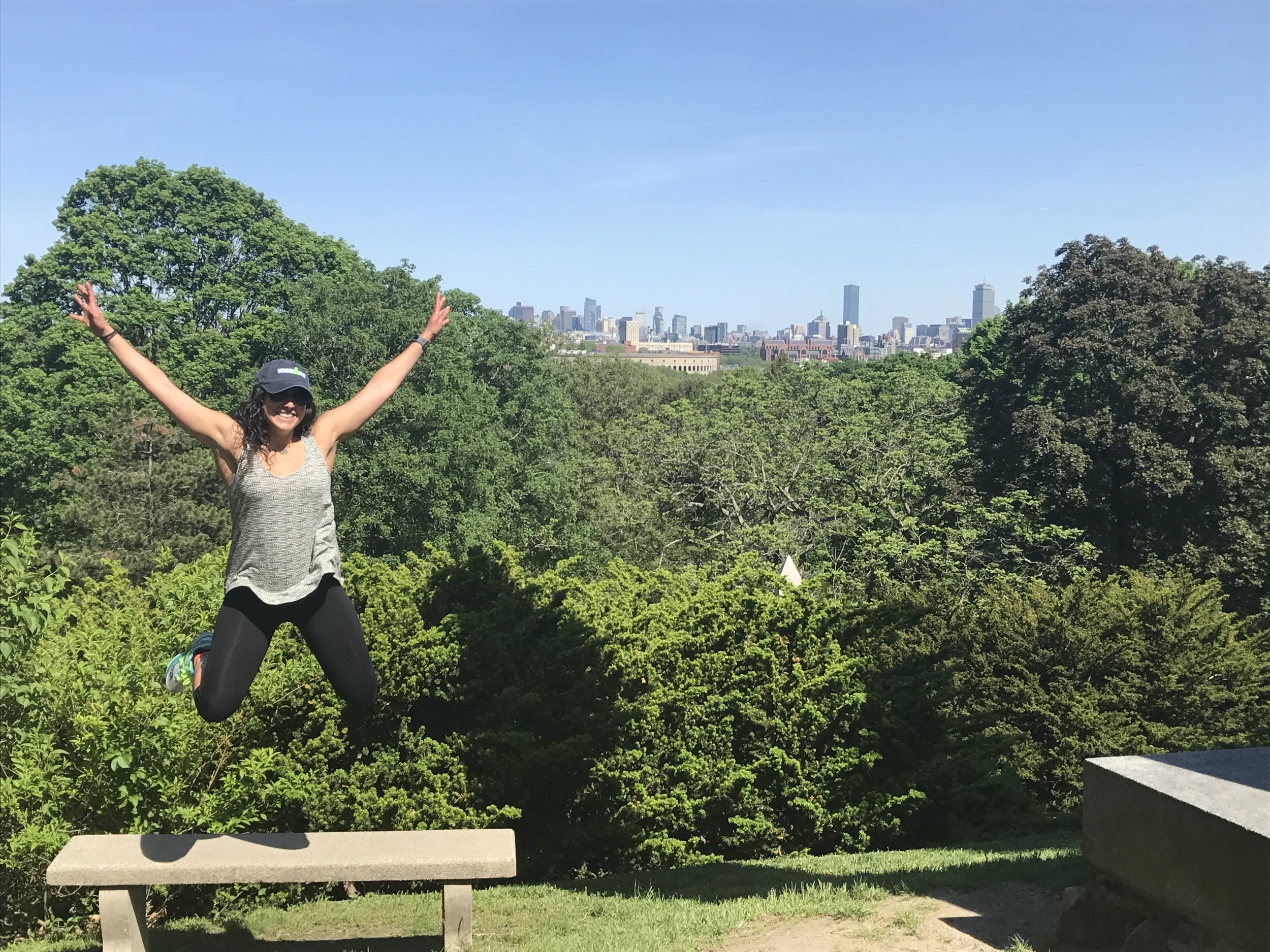 Frances Nieves Serret, a Puerto Rican behavior analyst living in Boston, MA, on one of her many adventures.