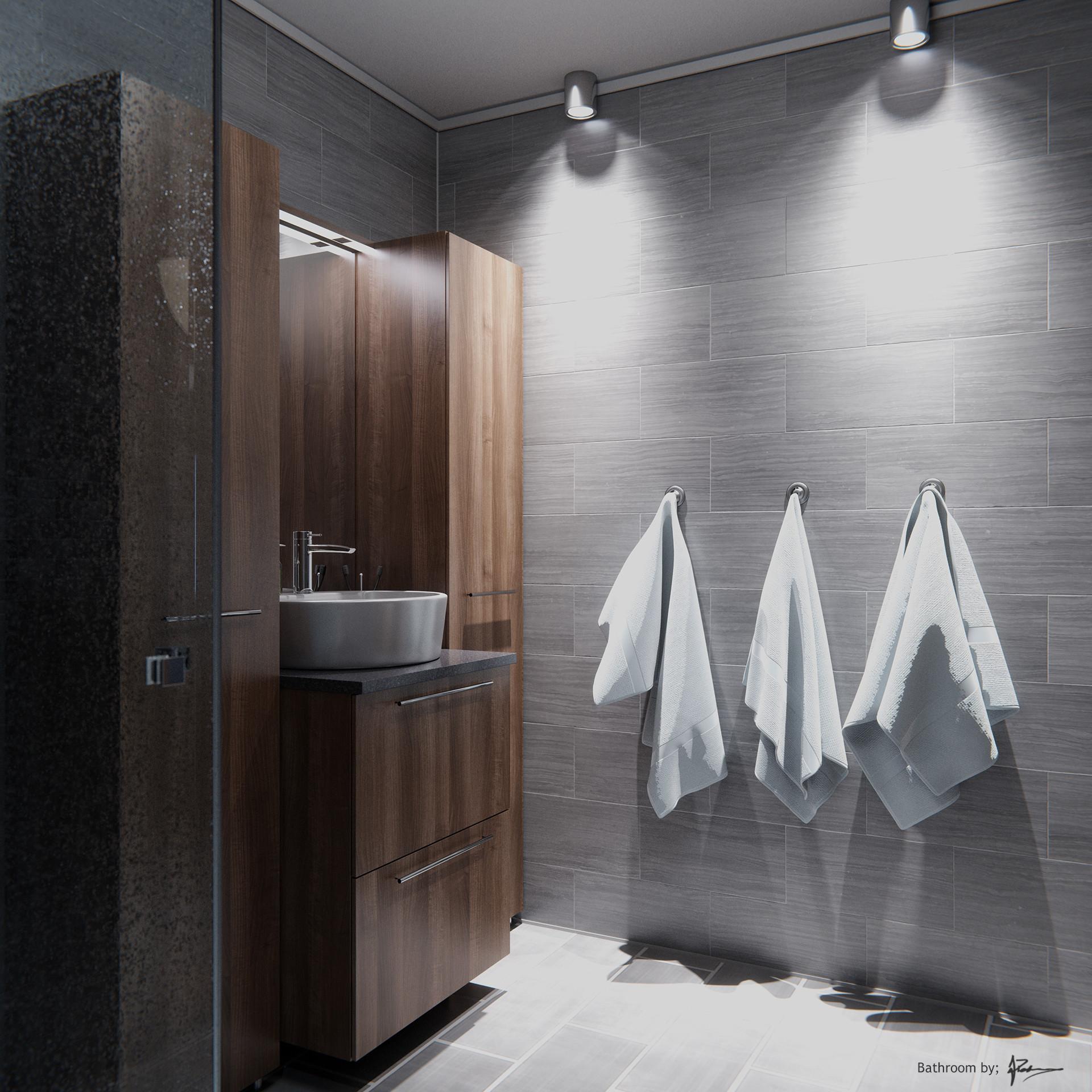 Love that lighting!Created by  Asbjørn Pedersen using the  new tile materials  in Blender.